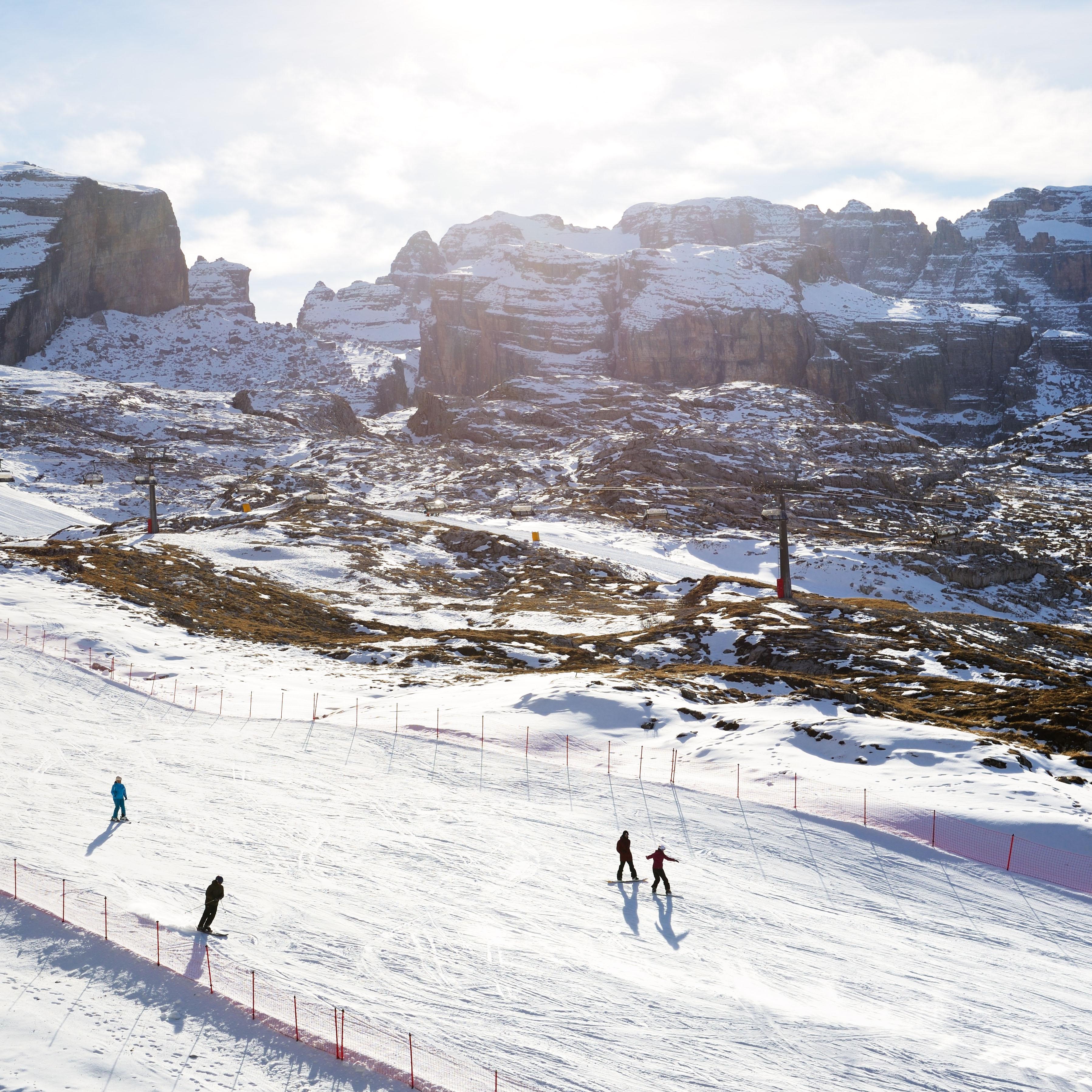 ski area dolomiti